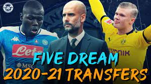 TOP 5 MAN CITY DREAM TRANSFER TARGETS