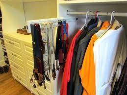 tie organizers for closet atlanta closet storage solutions belts ties tie rack closetmaid