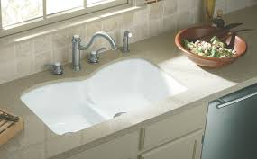White Kitchen Sink Undermount Kitchen Kitchen Easier And More Enjoyable With Undermount Sinks