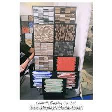 granite displays frames tile shelving racks ceramic display shelves mosaic racks solutions displays cases floor stands stone displays rack porcelain