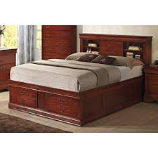 Amazon.com: Coaster 200439KE-CO Louis Philippe King Size Storage Bed ...