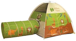 Amazon.com: Pacific Play Tents Kids Safari Fun Dome Tent and Crawl Tunnel  Combo for Indoor / Outdoor Fun: Toys & Games