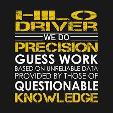Hilo Driver We Do Precision Guess Work