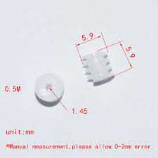 10/100/1000pcs 0.5 Modulus <b>worm</b> gear 1.5mm hole/plastic gear ...