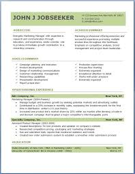 Free Professional Resume Templates Download Good To Know Intended