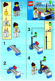City : LEGO Doc and Patient Instructions 4936, City