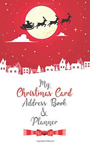 How To Address A Christmas Card Pdf My Christmas Card Address Book Planner Faithgarciarhodes