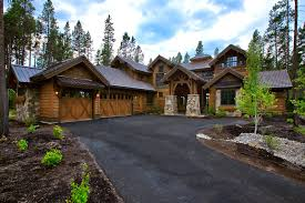 Kemper Hill Mountain Home Entry Photo 01 From Houseplansandmore Luxury Mountain Home Floor Plans