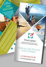 Travel Free Psd Tri Fold Psd Brochure Template