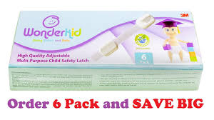 Child Safety For Cabinets Amazoncom Wonderkid Reusable Adjustable Child Safety Locks