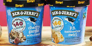 ben jerry s has new low calorie ice