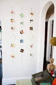 hanging art without frames