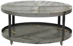 round industrial coffee table. Featured Photo Of Round Metal Coffee Tables Industrial Table T
