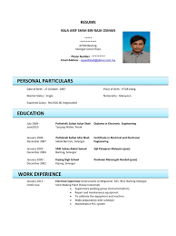 We found 70++ Images in Contoh Resume Gallery: