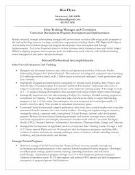 Trainer Resume Sample Personal Trainer Resume Sample No Experience Corporate Job 30