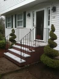 Brick Front Stoop Designs Exterior Captivating Brick Front Porch Steps Design Ideas