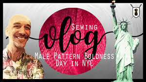 Male Pattern Boldness Fascinating Male Pattern Boldness Day In NYC VLOG 48 YouTube