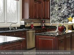 verde fontaine granite countertop design idea