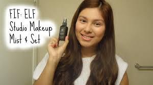 fif elf studio makeup mist set