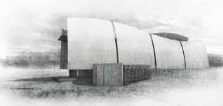 rough architectural sketches. Simple Rough Architecture_sketch_illustration_alex_hogrefe Inside Rough Architectural Sketches