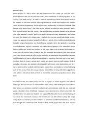 a reflective essay on the paper of organizational culture and 4 pages 1206