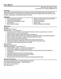 nanny housekeeper resume sample nanny resume examples nanny resume nanny resume example nanny