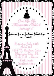 Birthday Invitations Free Download Enchanting Paris Party Invitations Paris Party Invitations With A Combination