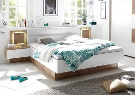 Doppelbett Nachtkommoden Capri Bett Ehebett Schlafzimmer 180x200