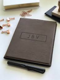 corporate gifts ideas personalized leather padfolio