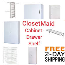 closetmaid wardrobe cabinet drawer shelf kit closet multi purpose white