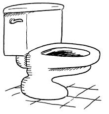 Badkamer Toilet Kleurplaat Gratis Kleurplaten Printen