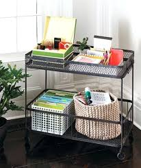 Real simple office supplies Uses Home Office Supplies No Space For Home Office Try This Idea Paperwork On Wheels From Jennica Atkinson Home Office Supplies Iamrareinfo