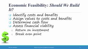 Systems Analysis Design Ch 1 Feasibility Analysis Youtube