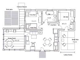 autocad floor plan samples home decor how to draw house in drawings dwg tutorial pdf