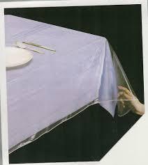 clear heavy duty vinyl tablecloth protector 70 round b00kc1nqyo