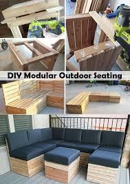 diy outdoor pallet furniture. Easy DIY Outdoor Pallet Furniture 1 Diy