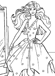 Pagine Da Colorare Di Barbie Stampabili