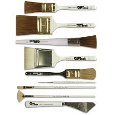 bob ross oil painting brushes and knives