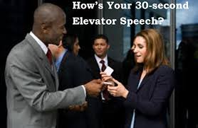 writing your second elevator speech writing your 30 second elevator speech