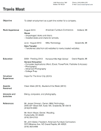 Resume Format Microsoft Template For Resume Resume Template Ms