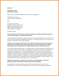 Business Style Cover Letter News