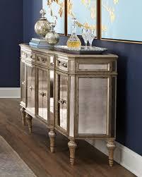 mirrored furniture. dresden fourdoor mirrored buffet furniture
