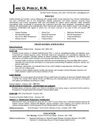 Entry Level Nurse Resume Example Nurse Resume Entry Level Nursing