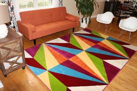 Inexpensive Rugs For Living Room Living Room Fascinating Oriental Red Rugs With Brown Perfect