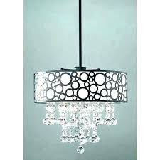 crystal chandelier with black drum shade modern black chandelier drum shade crystals three crystal chandelier with