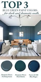 blue green paint colors