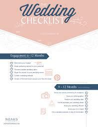 Wedding Coordinator Checklist The Complete Wedding Planning Checklist Noahs Event Venue