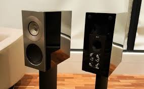 kef reference. the smaller reference 1 speaker. kef n