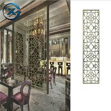 Multiple Options Laser Cut Home Decor Decorative Metal Room Divider Screens