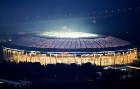 Moscows Fifa World Cup Main Stadium Welcomes Russia